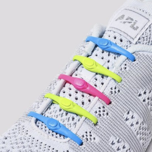 Hickies 2.0 Lacing System - Neon Multi