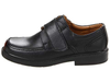 Florsheim Berwyn Jr in Black in Side View