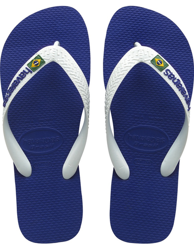 Havaianas Brazil Logo Sandal (Little Kid/Big Kid)