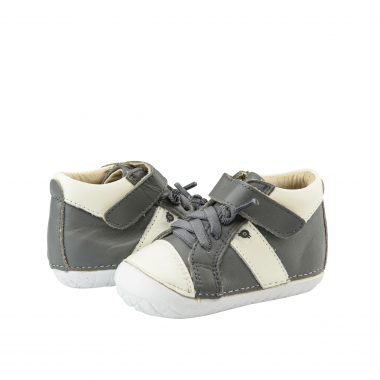 Old Soles Earth Pave Grey/White (Toddler)