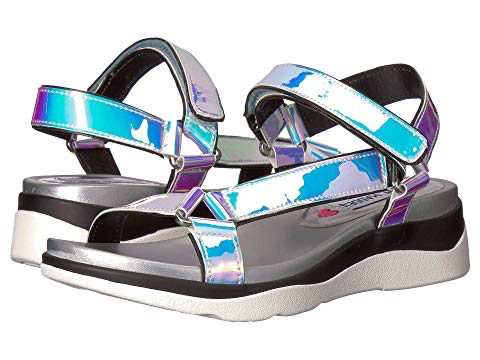 Steve Madden JReva Iridescent Sandal (Little Kid/Big Kid)