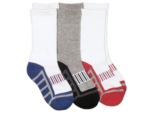 Jefferies Sport Crew Socks (3 Pair Pack)