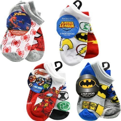 Iron man Socks Size 4-8.5