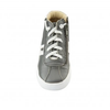 Old Soles High Spot (Toddler/Little Kid) Grey/White front top view