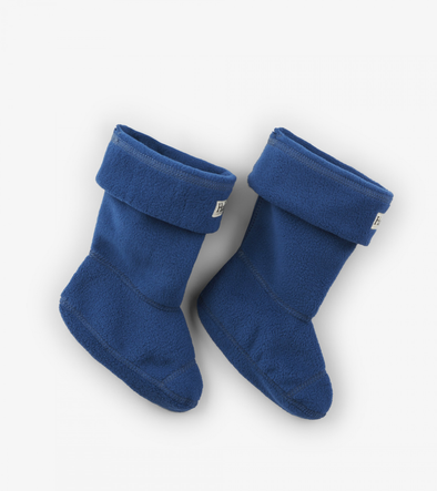 Hatley Navy Boot Liners side view