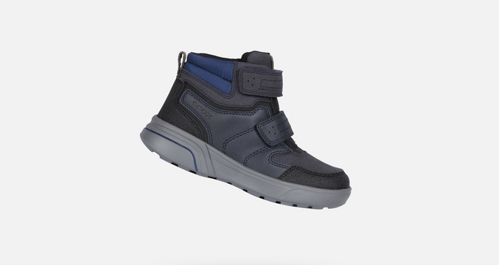 Geox Kids SVeggen ABX Boot (Little Kid/Big Kid)