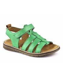 Froddo Girls Sandal light green side view