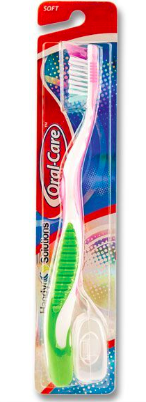 Oral Care Soft Bristle toothbrush ( colors may vary)