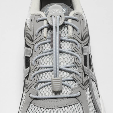 Lock Laces - Cool Grey