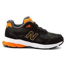 New Balance 990J2G black/orange side view