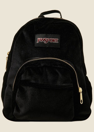 Jansport Half Pint Mini Backpack Black Velvet