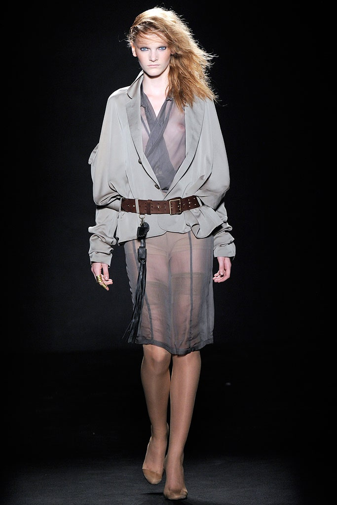 BELTED JACKET SS2010