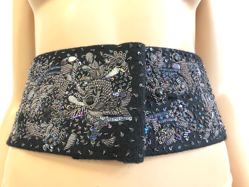 EMBROIDERED BELT AW2012