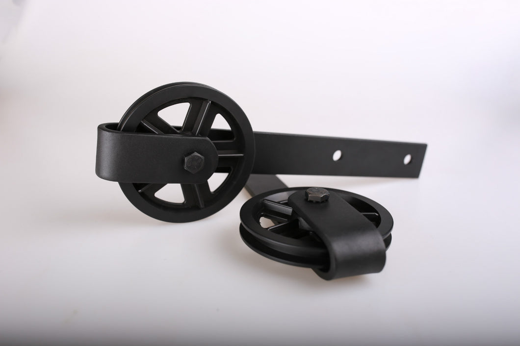 2 Pieces Wagon Wheels Roller