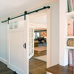 TL Flat Roller Single Design Sliding Barn Door Hardware