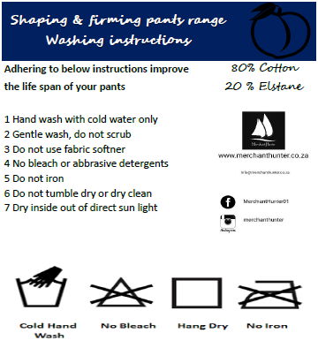 Washing & care instructions