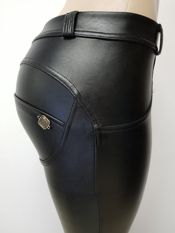 Peaches Special Edition Leather Pants Low/Reg waist (Specials) - Merchant Hunter