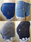 Peaches Sculpting Lace shorts - Limited edition (Pre-order) - Merchant Hunter