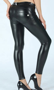 Peaches Special Edition Leather Pants Low/Reg waist (FS) - Merchant Hunter