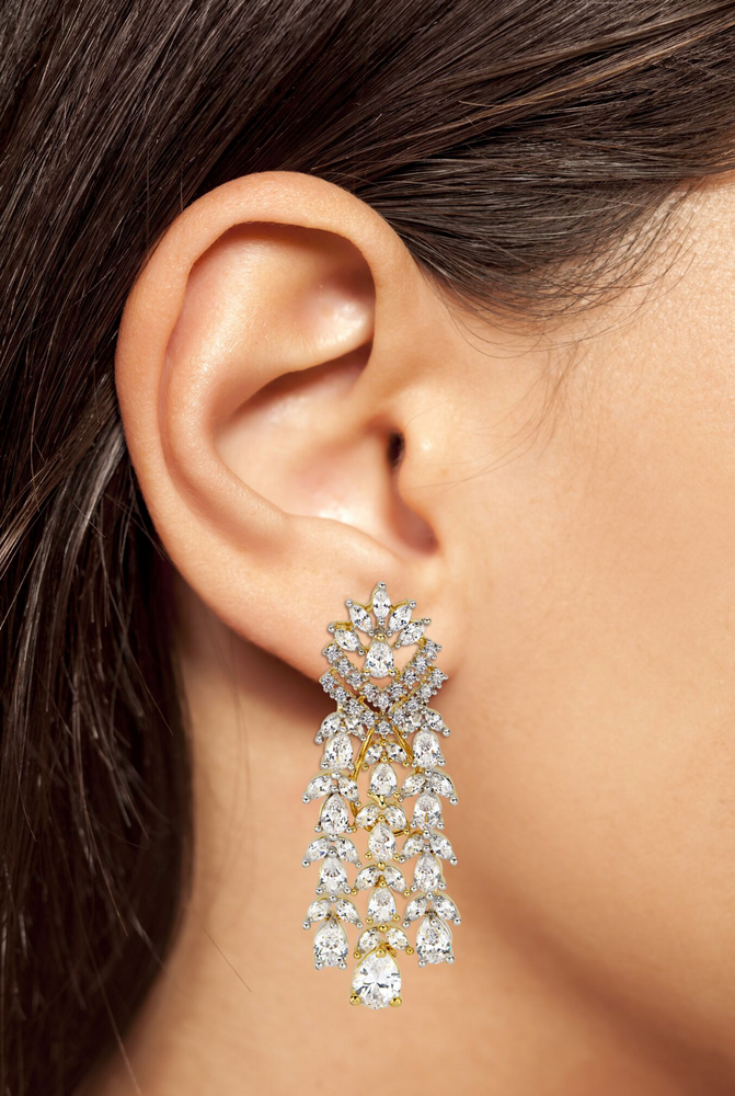 Amara Chandelier Statement Earrings