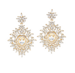 Earrings statement-earrings-celebrity-style-jaipur-rose-indian-jewelry-jewellery-fancy-prom
