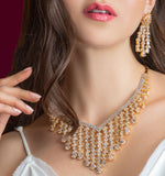 Amara Chandelier Statement Necklace Set