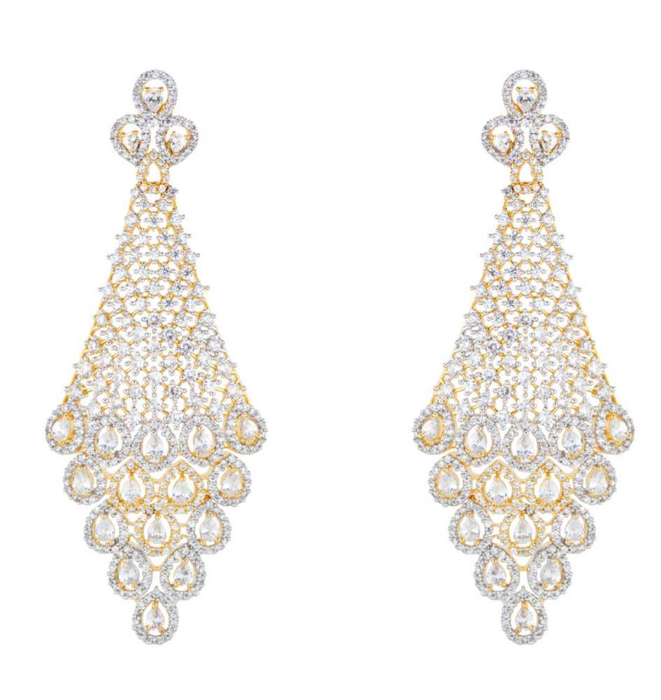 Designer Earrings Indian jewelry jewellery prom eid diwali