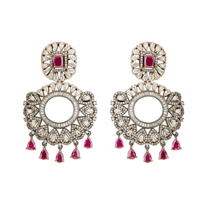 Jaipur Rose Jewelry Avani Earrings  Indian jewellery indian jewelry celebrity style bollywood wedding bride bridal party dubai women sexy ruby