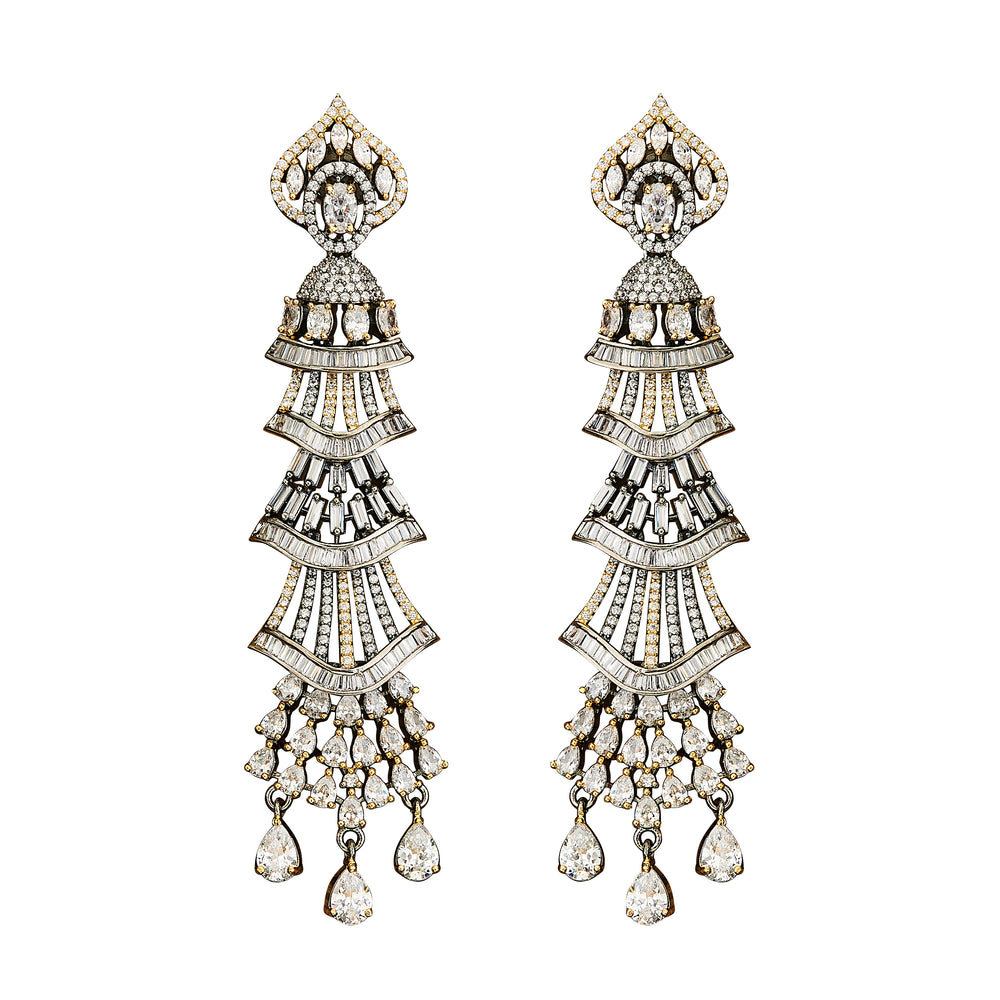 Jaipur Rose Jewelry Milana Earrings  Indian jewellery indian jewelry celebrity style bollywood wedding bride bridal party dubai women RUBY