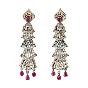 Jaipur Rose Jewelry Milana Earrings  Indian jewellery indian jewelry celebrity style bollywood wedding bride bridal party dubai women sexy