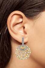 Mariah Designer Indian Earrings By Jaipur Rose