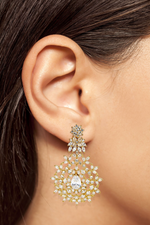Noor Indian Designer Statement Earrings