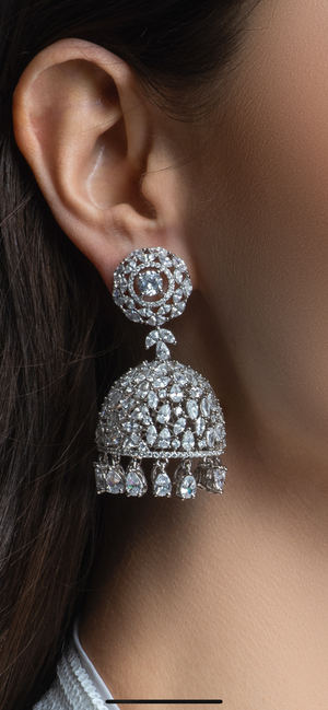Gizelle Jhumka Designer Indian Earrings
