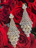 Isha Designer Indian Earrings By Jaipur Rose Designer Indian Statement Jewelry