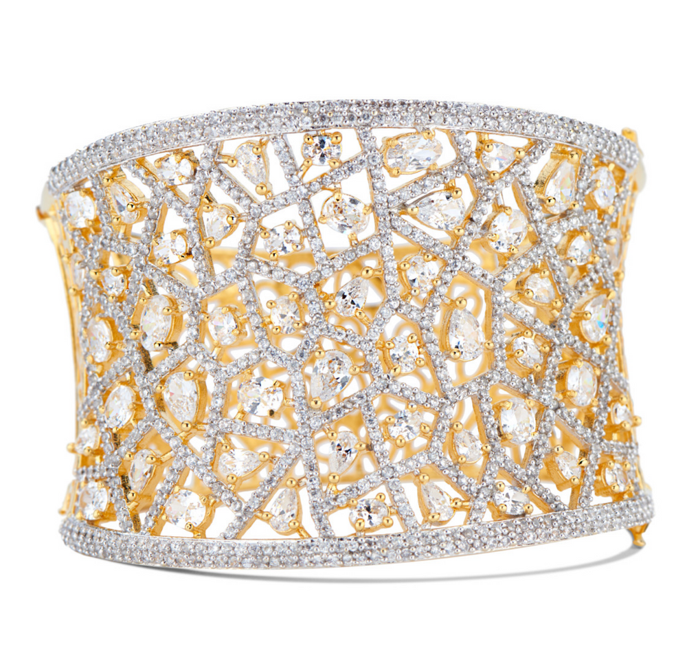 Jhanvi Statement Cuff By Jaipur Rose