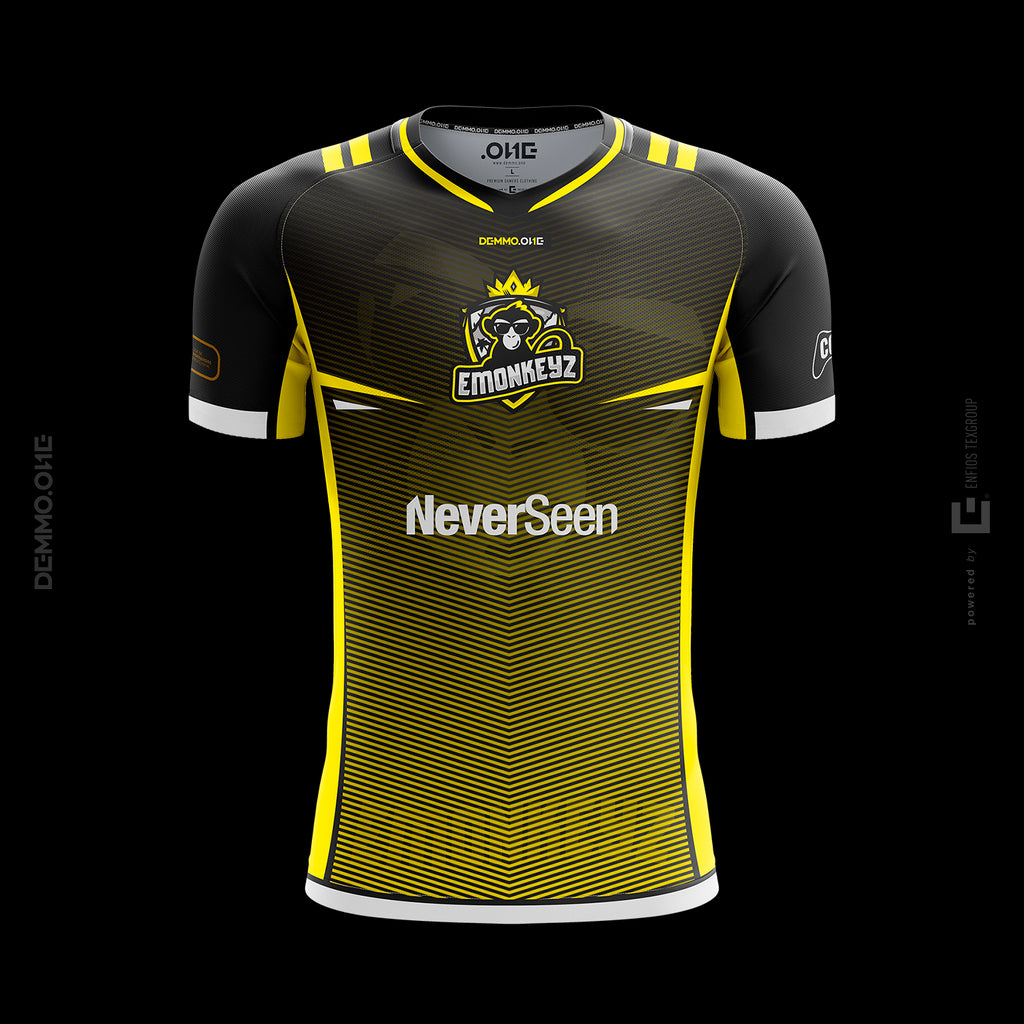 Second Jersey EMONKEYZ