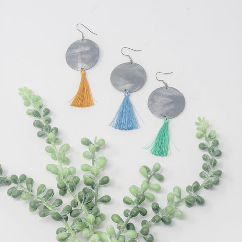 SUMMER Be Bold Single Tassel Earrings