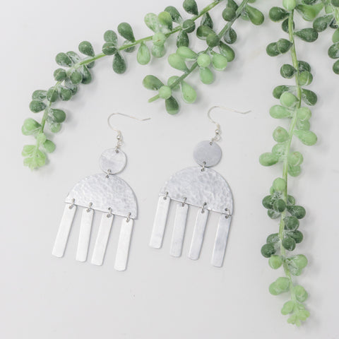 Dancing Aluminum Earrings
