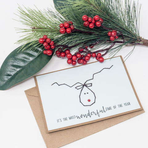 Reindeer Holiday Greeting Cards