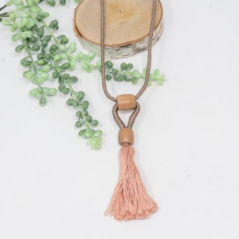 Boho Blush Necklace