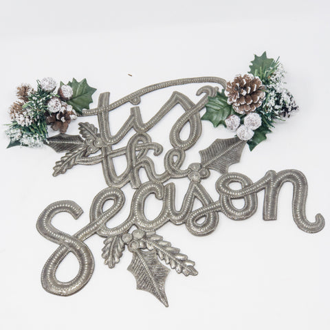 'Tis the Season Metal Art