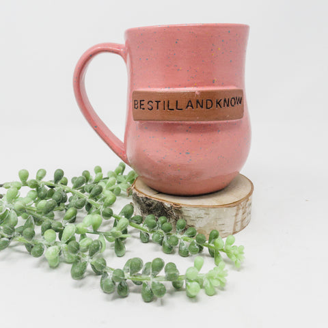 Be Still & Know Word Mug