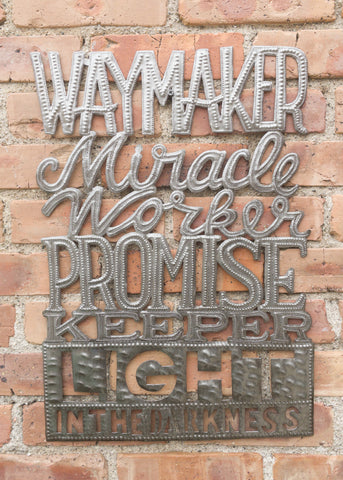 Waymaker Metal Art