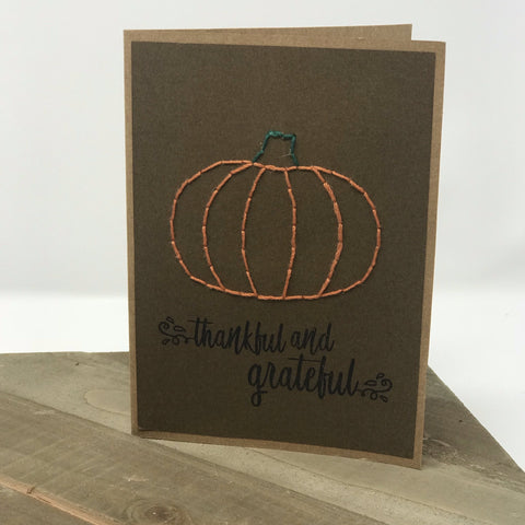 Thankful & Grateful Greeting Cards