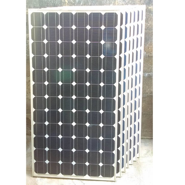 175 Watts, 24 Volts Mono crystalline Solar Photovoltaic (PV) Panels, Seven (7) pieces