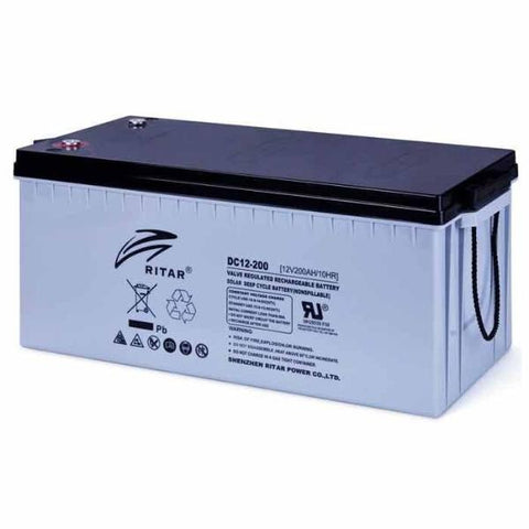Ritar 200Ah 12V AGM Deep Cycle Battery
