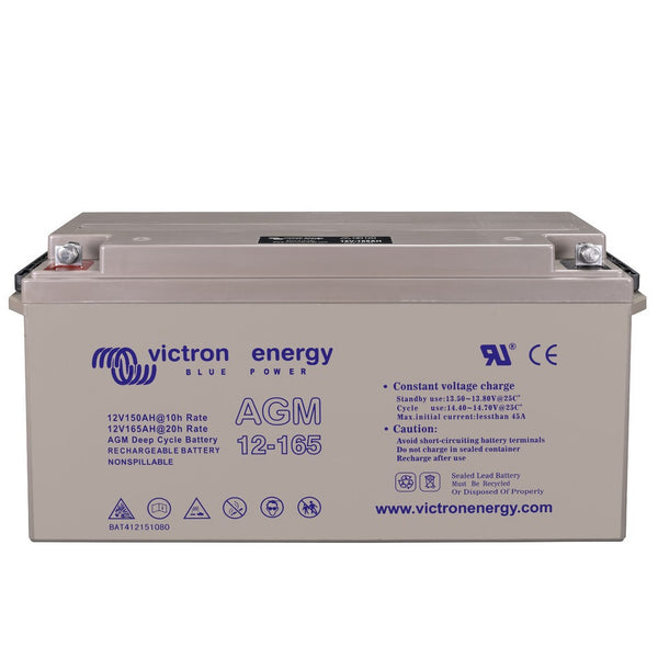 Fullriver 165AH 12V AGM Deep Cycle Battery