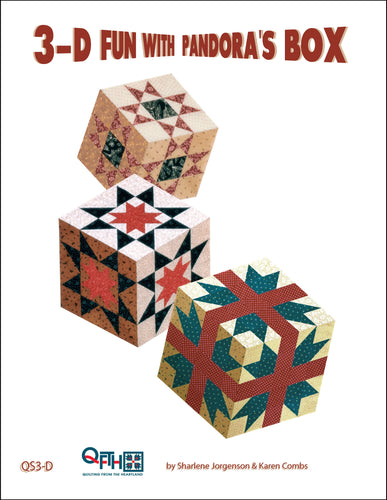 book cover 3-d fun with pandora's box