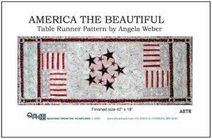 America the Beautiful Table Runner