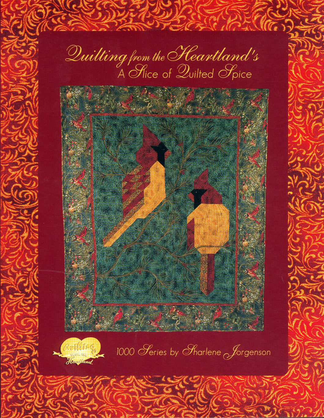cover of A Slice of Quilted Spice book